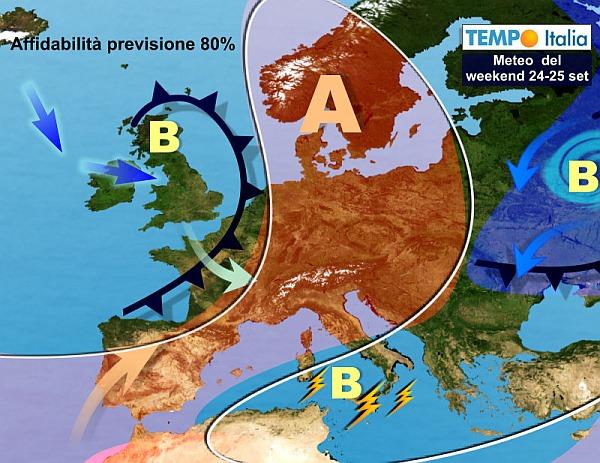 METEO - Temporali e rischio nubifragi in Sicilia: le previsioni del weekend
