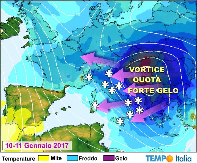 Epifania: arrivano il freddo e la neve anche al centro sud