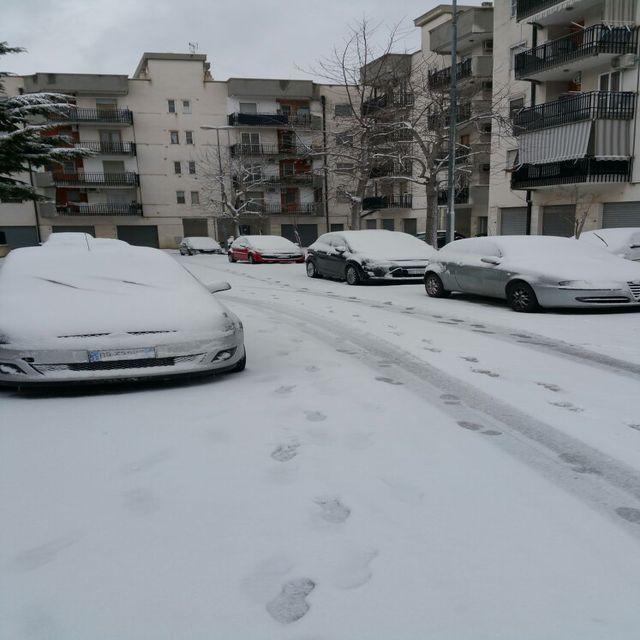 Maltempo: ancora freddo e neve in Puglia