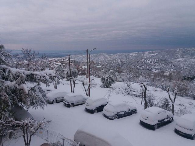 Ancora neve, con temperature che restano rigide