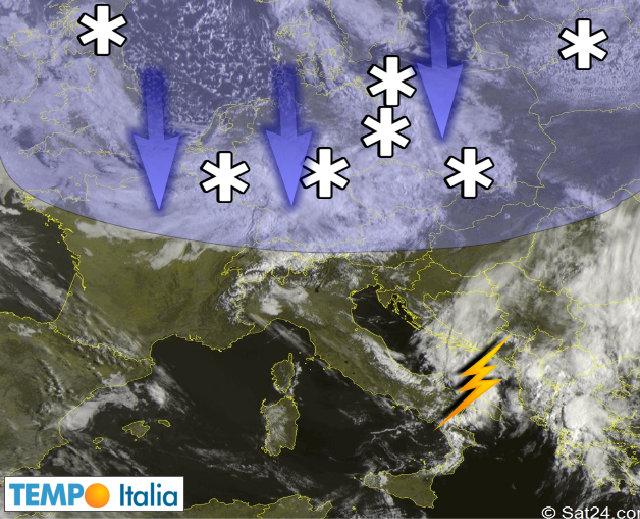 Previsioni Meteo Napoli, il maltempo continua. E torna il freddo