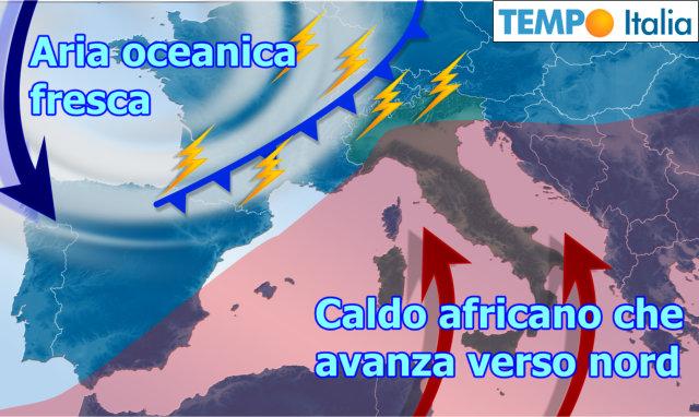 Meteo Giuliacci: weekend più fresco tra pioggia e sole