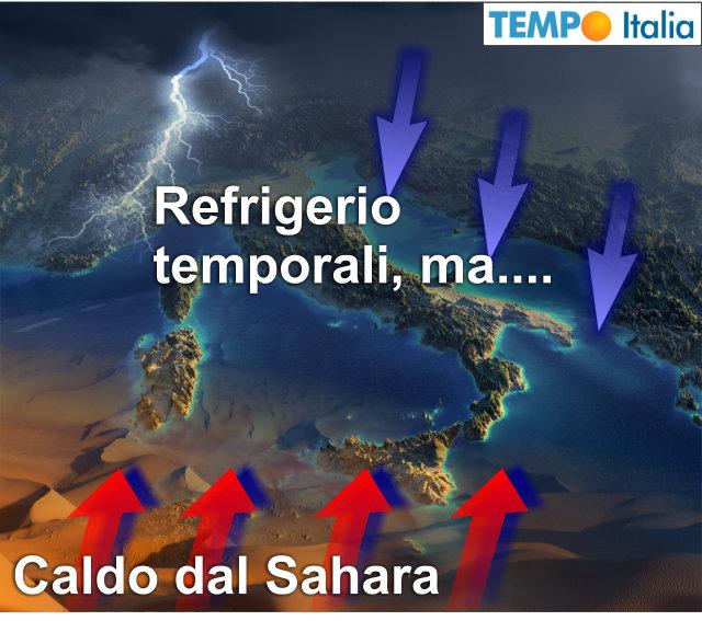 Meteo: caldo torrido fino a venerdì, poi lieve calo delle temperature