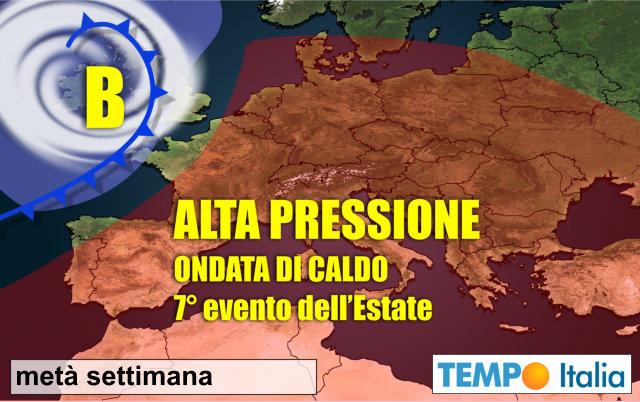 Meteo Italia. Ondata di caldo africano Sull'Italia: il picco da domani