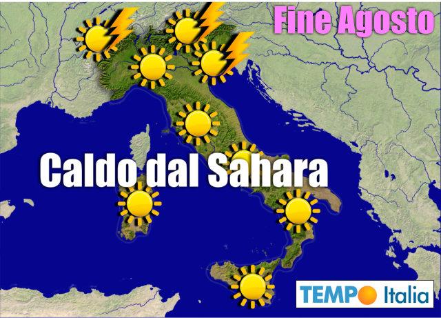 Arriva una nuova ondata di caldo africano