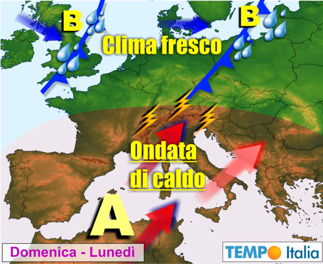 Meteo, l'estate sta finendo: più temporali e calo delle temperature