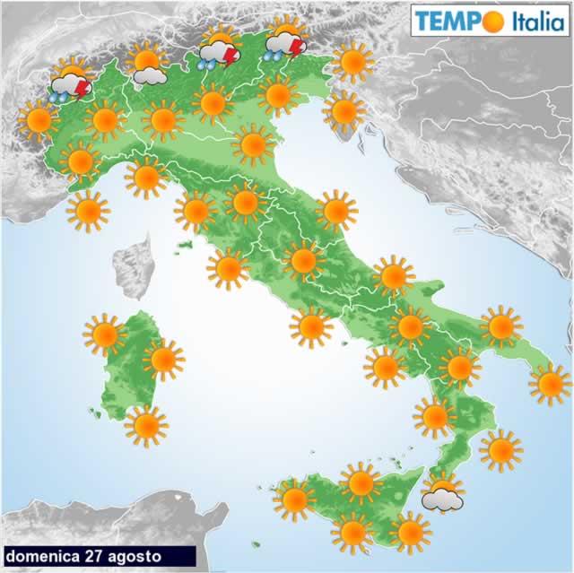 Meteo: temporali e temperature in netto calo, arriva il maltempo