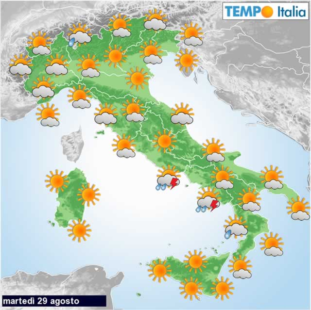 Meteo, primi temporali in arrivo, ma l'estate resiste