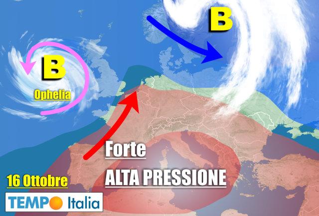 Meteo Italia. Venerdì arriva qualche pioggia. Le Regioni più interessate