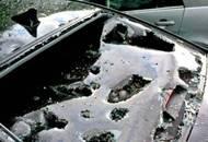 CAMPANIA: appennino, temporali con grandine sfondano parabrezza auto