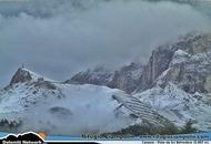 Trentino, la nevicata notturna di piena Estate