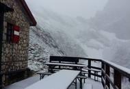 Nevica sulle alte cime d'Abruzzo. Previsioni meteo