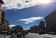 Milano, è arrivata l'aria fredda dall'Atlantico, e la temperatura schizza a 33°C