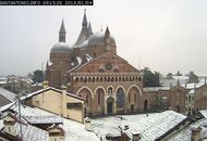Padova sotto la neve