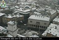 Udine, stamattina sotto la neve