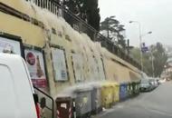 Liguria occidentale, allagamenti, fiumi che iniziano a straripare