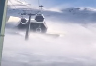 Tempesta di vento blocca funivie Cervinia. VIDEO e analisi evento