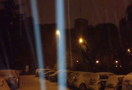 Foligno, neve stanotte. VIDEO