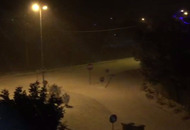 Zona di Perugia stanotte neve. VIDEO