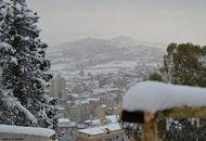 Caltanisetta in un giorno di neve indimenticabile