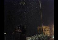 Nevicata a Fermo nelle Marche
