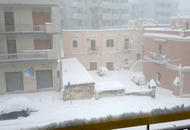 Gravina di Castellaneta nevicata