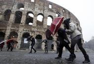 Meteo ROMA: condizioni meteo nella media invernale, freddo, vento e precipitazioni
