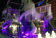 Riccione, città di vacanza al mare e di ghiaccio nel Gennaio 2017