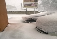Meteo estremo in Abruzzo, con neve da record in collina, ormai vicino ad 1 metro