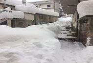 Meteo diretta ABRUZZO, paesi sepolti dalla neve e senza energia elettrica. FOTO LIVE
