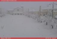 Abruzzo, nevicata storica. Oltre due metri di neve a 400 metri