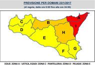 In Sicilia maltempo con nubifragi. Autorità chiudono scuole in molti comuni. Allerta meteo