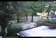 San Marino imbiancata di neve
