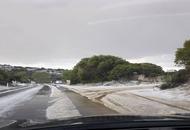 Sardegna piomba il gelo: temperature sino a -5°C nell'interno. Costa Smeralda imbiancata