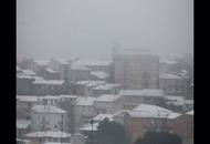 Nord Sardegna, nella notte abbondanti nevicate