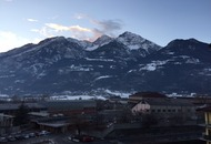 Meteo Aosta gelo e neve persistono