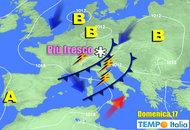 METEO 17-23 settembre: altri temporali al Centro Nord in estensione al Sud. Neve su Alpi, ma poi rinfresca ovunque