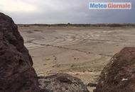 Sardegna, è in biblica siccità. Prosciugati i laghi nell'ovest dell'Isola. Foto