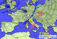METEO 2 - 8 Ottobre: possibile cambiamento con le piogge autunnali dal 1° al 7 Ottobre
