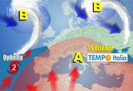 METEO dal 15 al 21 Ottobre, il clima si è ammalato, Alta Pressione estiva