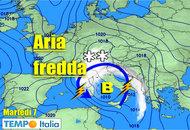 METEO dal 7 al 13 Novembre, MALTEMPO con pioggia, temporali, neve e vento