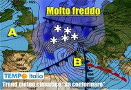 METEO 14 – 20 Novembre: verso una svolta con FREDDO e MALTEMPO