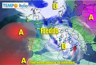 METEO 20–26 Novembre: possibile tempo invernale, calo termico