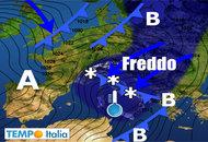 METEO 25 Novembre – 1° Dicembre: avviati verso l'Inverno, molto freddo vicino Italia