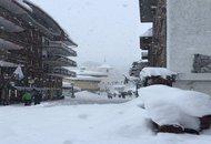 Valle d'Aosta, fortissime nevicate su stazioni sciistiche. E' il pieno di turisti