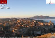 Perugia, nebbione in valle, sole e mite in città. Previsioni Meteo