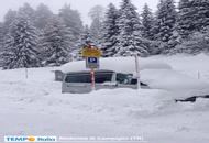 Trentino, nevica ad intermittenza. Quota neve in calo. Ecco Madonna di Campiglio