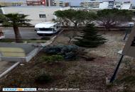 Puglia, una domenica di danni per il fortissimo vento: le foto