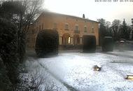 Neve a Bologna a causa dell'aria fredda polare