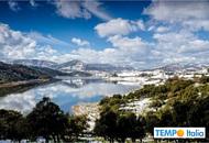 Sardegna, arriva il grecale e piove nella costa orientale. La neve di ieri